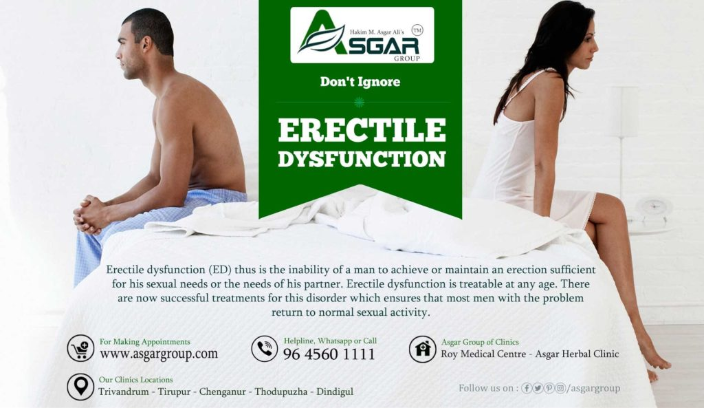 Ayurveda treatment for erectile dysfunction in kerala