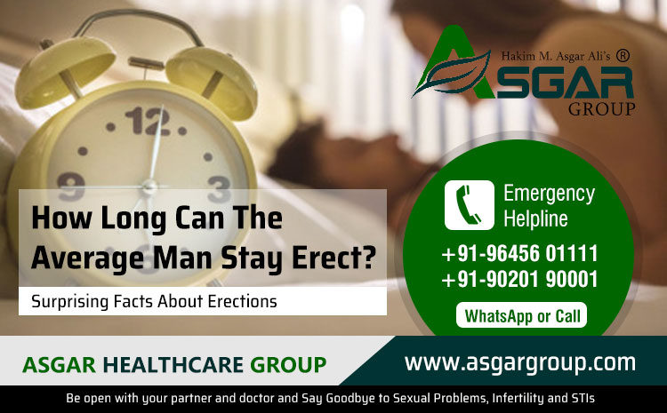 How Long Can The Average Man Stay Erect?