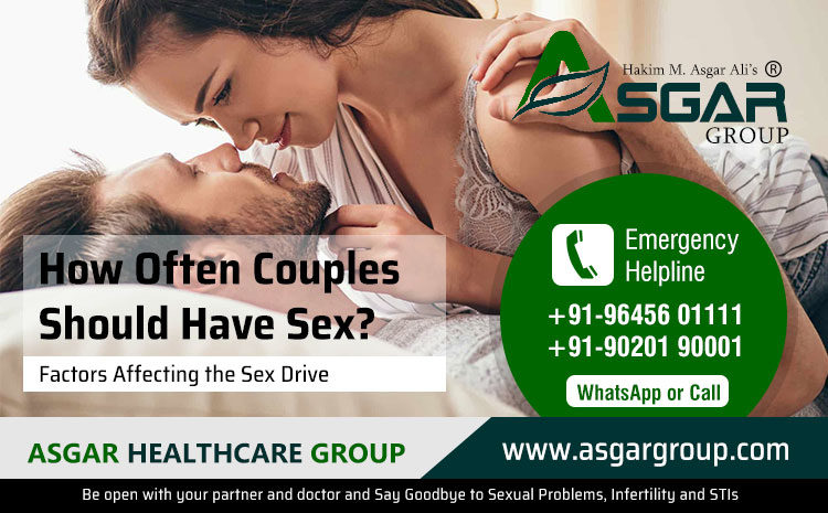 How Often Couples Should Have Sex?
