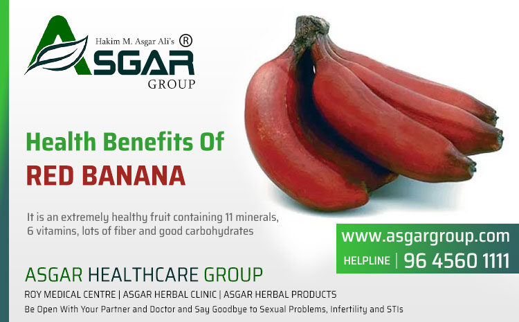 Amazing Health Benefits Of Red Banana