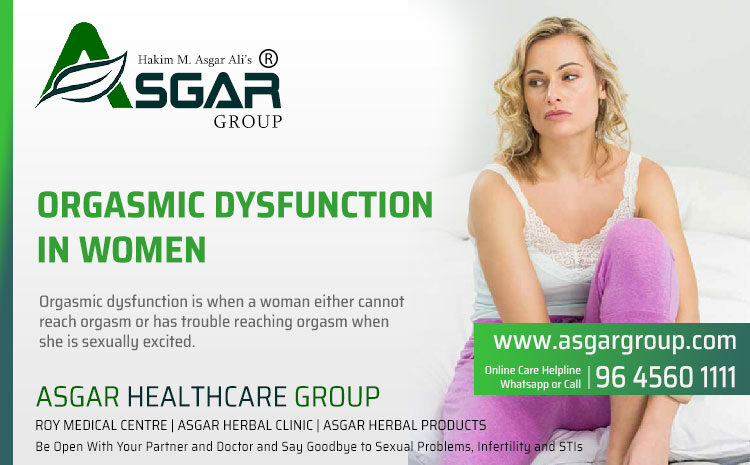 Orgasmic Dysfunction In Women