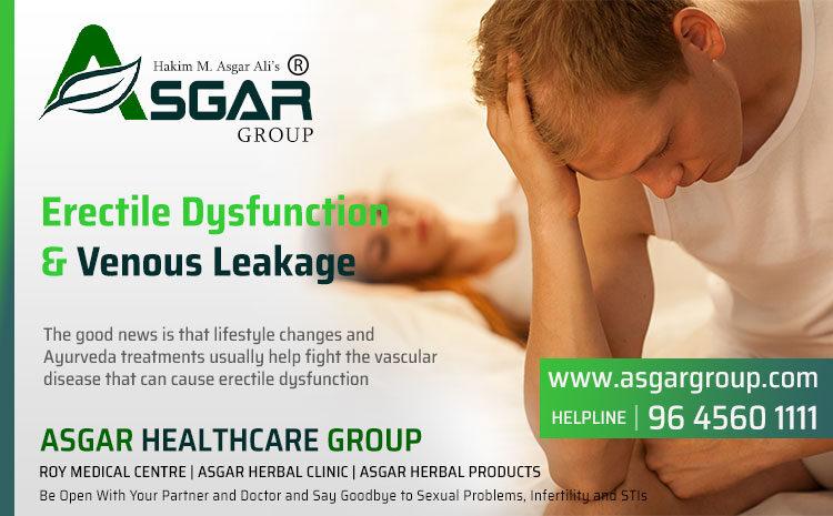 Erectile Dysfunction and Venous Leakage