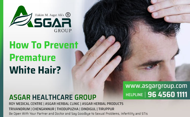 How To Prevent Premature White Hair?