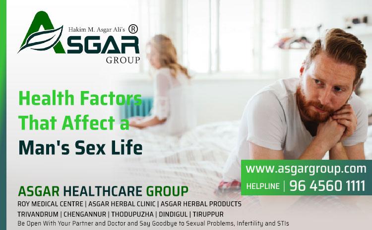 Health Factors That Affect a Man's Sex Life