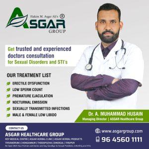 Best-Sexologist-in-Coimbatore-Tirupur-Erode-Salem-Trichy-Madurai-Chennai-Vellor-Asgar-Herbal-Clinic-Tamilnadu-RoyMedicalCentre Kerala