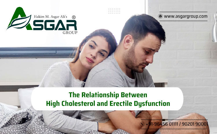 The Relationship Between High Cholesterol and Erectile Dysfunction