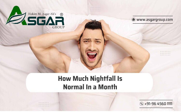 How Much Nightfall Is Normal In a Month